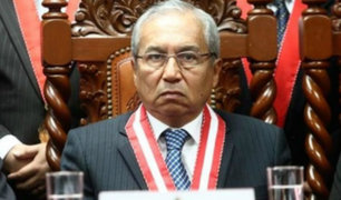 Pedro Chávarry anuncia que no renunciará a Fiscalía