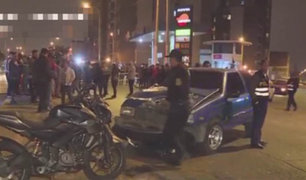 Joven motociclista murió tras impactar contra auto en La Perla