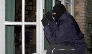 Ladrones aprovechan feriado largo y desvalijan casa en San Borja