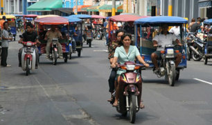 Conductores de motos y mototaxis son el blanco de la delincuencia en Iquitos