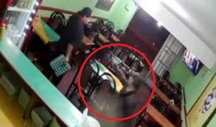 Los Olivos: sujetos armados robaron a trabajadores de chifa