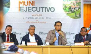 Presidente Martín Vizcarra participa hoy en reunión Muni Ejecutivo