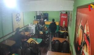 Inseguridad ciudadana: asaltan por tercera vez chifa en Los Olivos