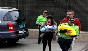 Dictan prisión preventiva para pareja chilena que intentó sacar bebés del Perú