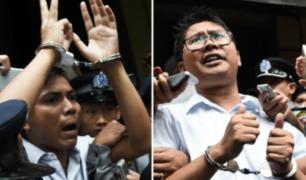 Myanmar: condenan a 7 años de prisión a dos periodistas de Reuters