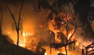 Emape: causas de incendio en almacén siguen en investigación