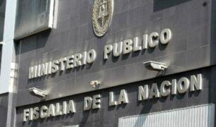 Mediante un comunicado fiscales superiores rechazaron actos de corrupción