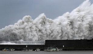 Japón: tifón Jebi tocó tierra y es considerado uno de los más fuertes en los últimos 25 años