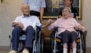 Japón: la pareja más longeva entró en el Libro de los Récords Guinness