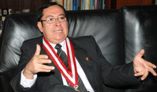 Presidente PJ solitará al Congreso facultades para retirar a jueces por hechos graves