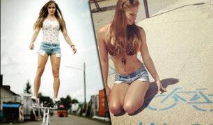 Alemania: conozca a la ciclista más sexy del mundo