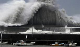 Japón: aeropuerto nipón de Osaka quedó inundado tras paso del tifón Jebi
