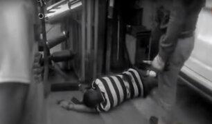 La Victoria: hombre es baleado en taller mecánico