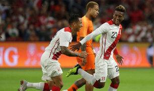 Perú vs Holanda: La bicolor cayó 2-1 ante los tulipanes