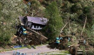 Terremoto en Japón deja al menos 9 muertos y más de 30 desaparecidos