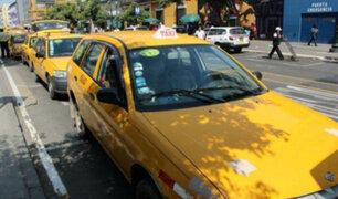 La Victoria: banda de extranjeros asaltaban en taxi falso