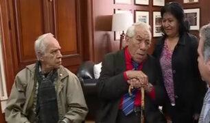 Congreso: actores Guillermo Campos y Eduardo Cesti se reunieron con Francesco Petrozzi
