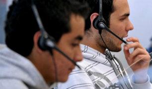 Apeco: 20 mil jóvenes se quedarían sin trabajo tras prohibición de llamadas de call centers