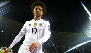 Perú vs. Alemania: Leroy Sané a la baja para duelo con la Blanquirroja
