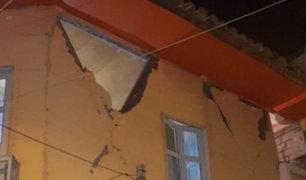 Ecuador: sismo de 6,5 dejó dos heridos y daños materiales