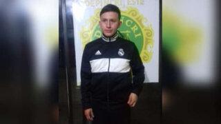 Trujillo: delincuente 'Gringasho' fue detenido por posesión ilegal de armas