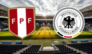 Alemania derrotó a Perú 2-1