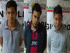 Banda de extranjeros fue detenida luego de asaltar a mujer en Surco