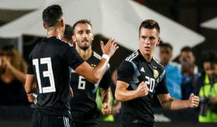 Amistosos internacionales: Argentina golea 3 a 0 a Guatemala