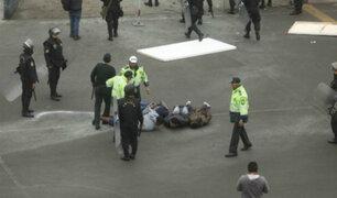 La Victoria: PNP recupera control del estadio Matute tras enfrentamiento