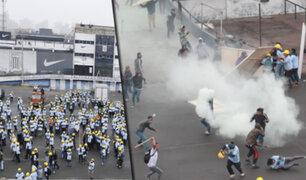 Estadio Matute: se registraron enfrentamientos entre barristas y grupo evangélico