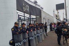 Matute: hinchas de Alianza Lima recuperaron explanada tras violento enfrentamiento