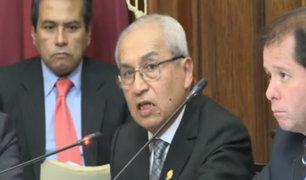 Chavarry  e Hinostroza se presentan en subcomisión de Acusaciones Constitucionales