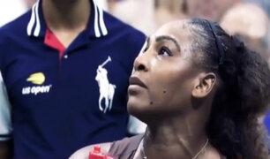 Tenista Serena Williams perdió los papeles en final de US Open