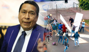 "Caso Estadio ""Matute"": pastor Alberto Santana ofrece conferencia de prensa"