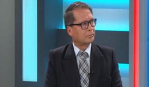 Marcos Ibazeta aseguró que Sendero Luminoso continúa siendo un riesgo para el país