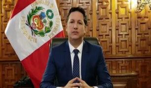 Daniel Salaverry declaró en sesión permanente al Congreso para debatir reforma judicial