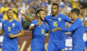 Brasil venció 5-0 a El Salvador tras partido amistoso