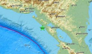 Nicaragua: sismo de 5,3 sacudió al país centroamericano