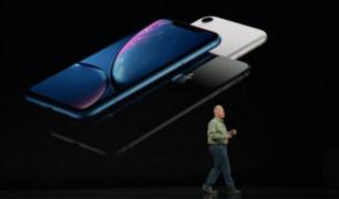 Mire el nuevo modelo de Iphone Xr de Apple