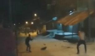 Iquitos: policías dispersaron gresca delincuencial realizando disparos al aire