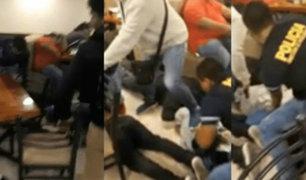SMP: delincuentes armados asaltan pollería y son detenidos