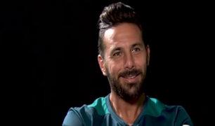 Claudio Pizarro respondió a divertido cuestionario de su club