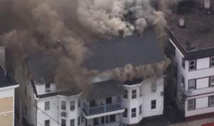 EE.UU: explosiones en Massachusetts incendian 23 edificios y dejan 4 heridos