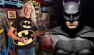 """Conozca al mayor coleccionista de """"Batman"""" en el mundo"""