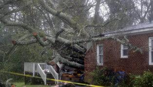 Tres muertos deja hasta el momento el huracán Florence en EEUU