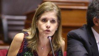 Mercedes Aráoz dice que asumiría la presidencia si Martín Vizcarra es vacado