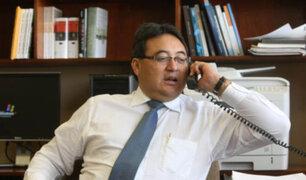 Investigarán a fiscal que archivó pedido de exministro Cuba para ser colaborador eficaz