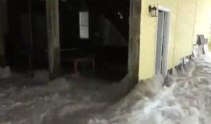 EE.UU: al menos cinco personas fallecidas tras paso de huracán Florence