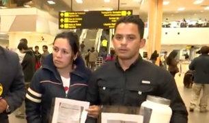 Pareja de venezolanos pide ayuda para retornar a su país