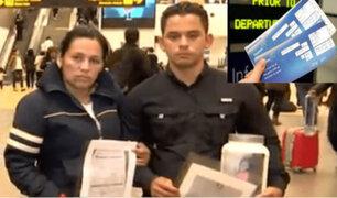 Donan pasajes a pareja de venezolanos para que retornen a su país